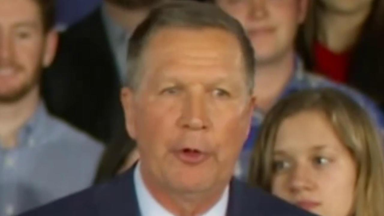 Kasich Looks to Beat Trump in Ohio