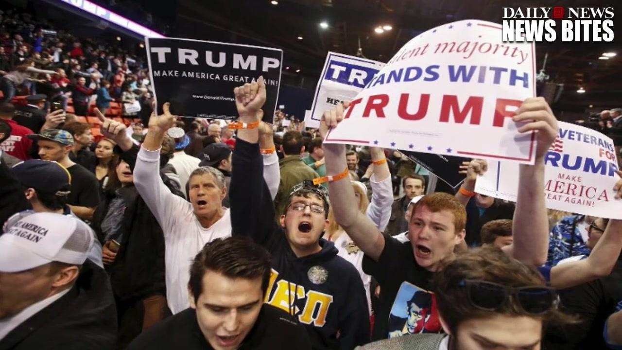 Secret Service Agents Rush To Protect Donald Trump  .MP4