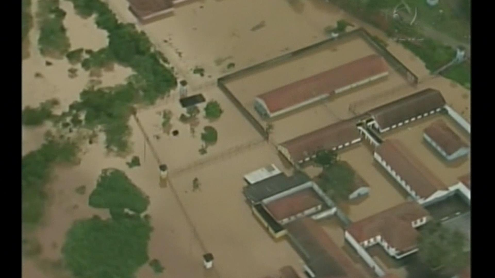 Aerials Show Extent of Damage From Heavy Rain in Brazil