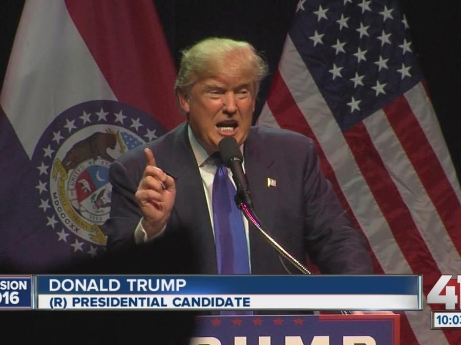Donald Trump Makes a Visit to Kansas City, 4 Arrests Made by Kansas City Police