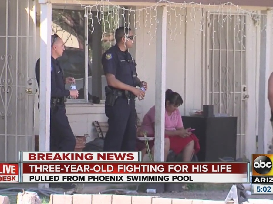 FD: Toddler Critical After Near-Drowning