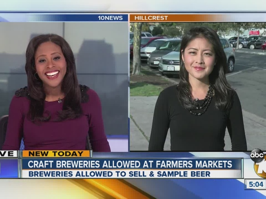Craft Breweries to Offer Tastings at Farmers Markets
