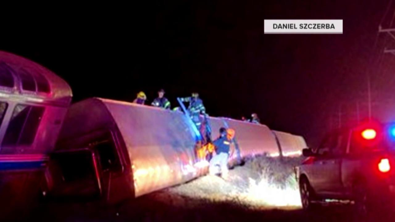 Amtrak Train Derails in Kansas, Sending Dozens to the Hospital