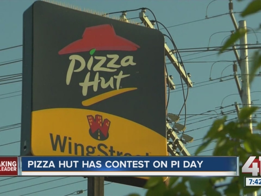 Pizza Hut Has Contest on Pi Day