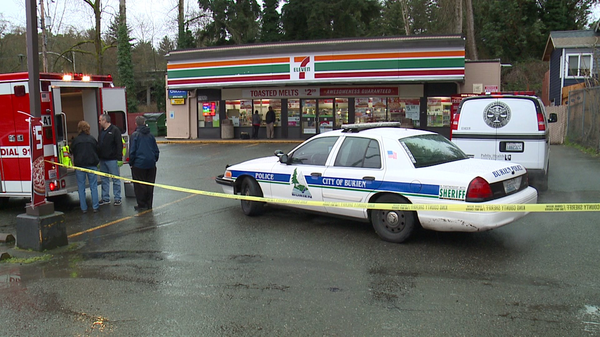 Hatchet-Wielding Man Shot by Customer at Seattle-Area 7-Eleven