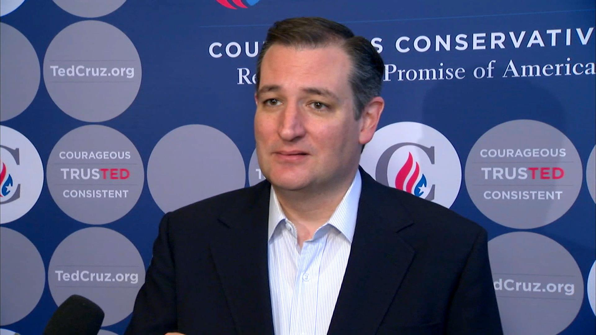 Cruz Stands By Promise to Support GOP Nominee