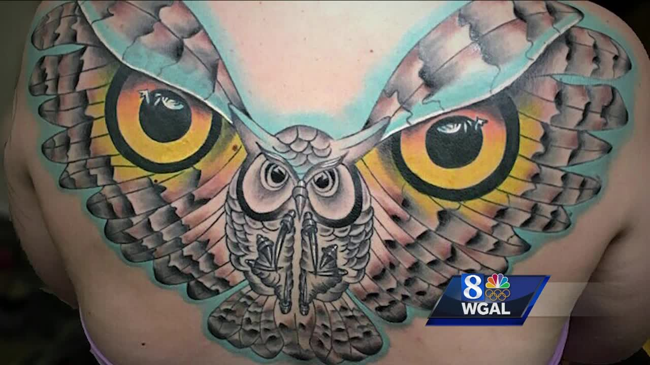 Pa. Tattoo Artist's Eye-Catching Design Snatches 'Unique' Prize