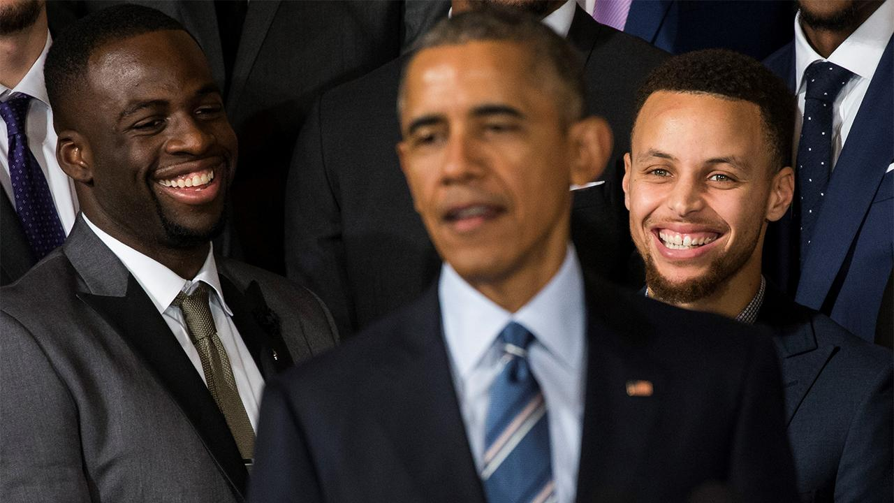 President Obama: 'Stephen Curry Is the Greatest Shooter That I've Ever Seen'