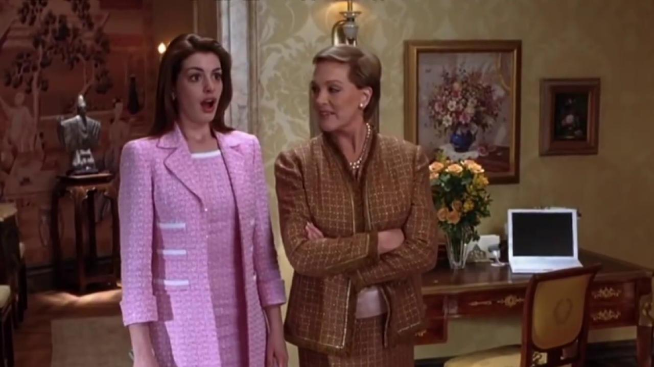 'Princess Diaries 3' in the Works with Anne Hathaway