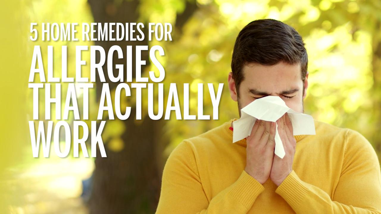 5 Home Remedies for Allergies That Actually Work