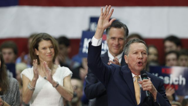 Gov. John Kasich Tops Donald Trump in Ohio Primary