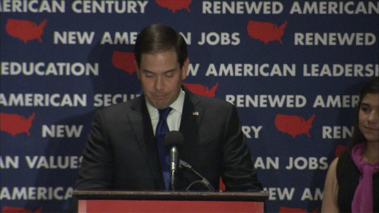 Rubio Suspends His Campaign