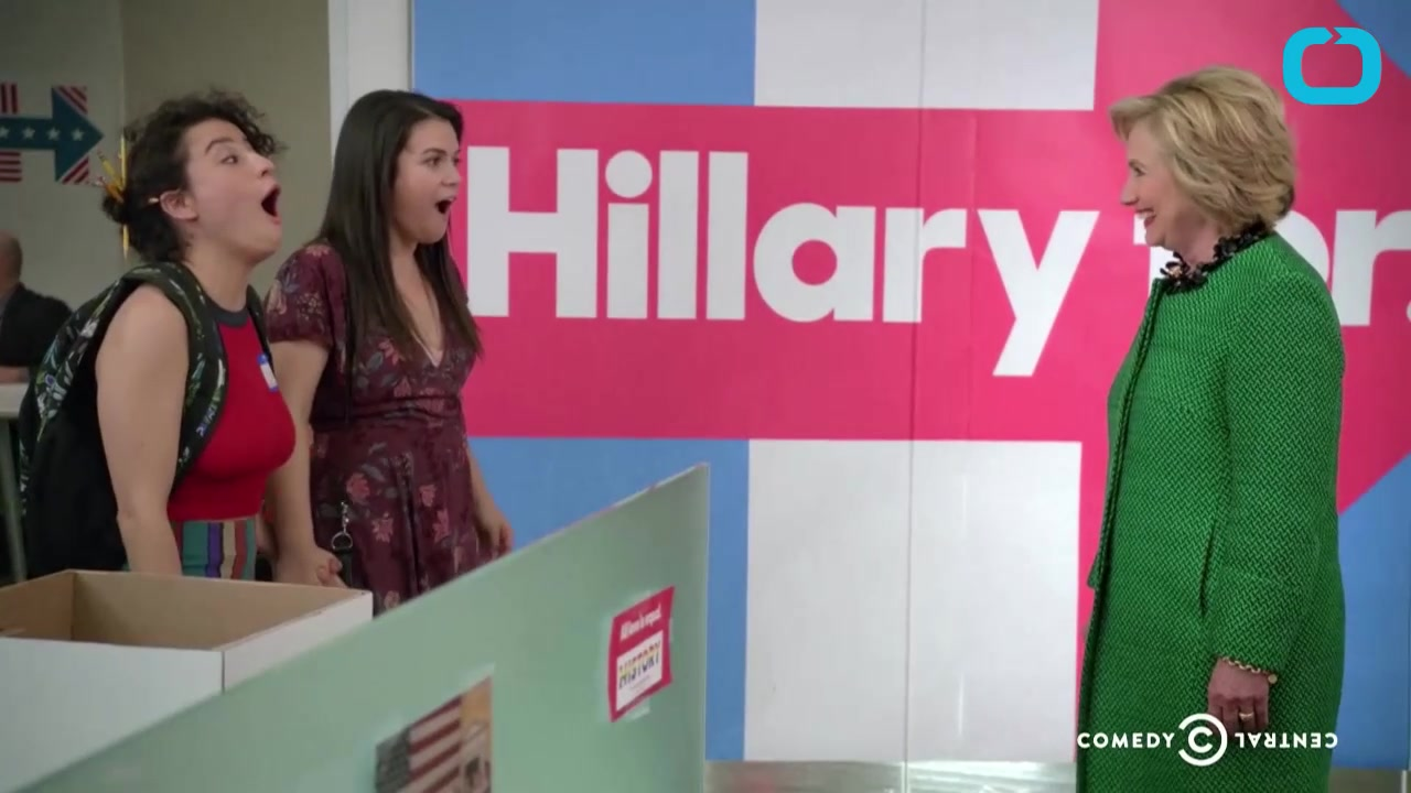 'Broad City' Actresses Go Crazy in Hillary Clinton Episode