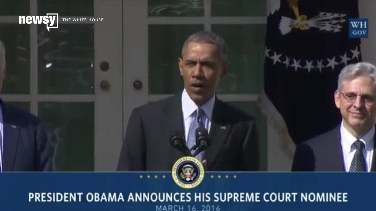 Obama Nominates 63-Year-Old Merrick Garland for Supreme Court Justice