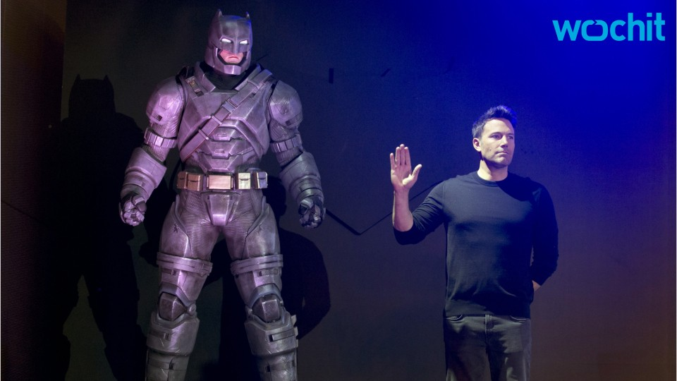 Ben Affleck Talks Maintaining Batman Persona to 4-Year-Old Son