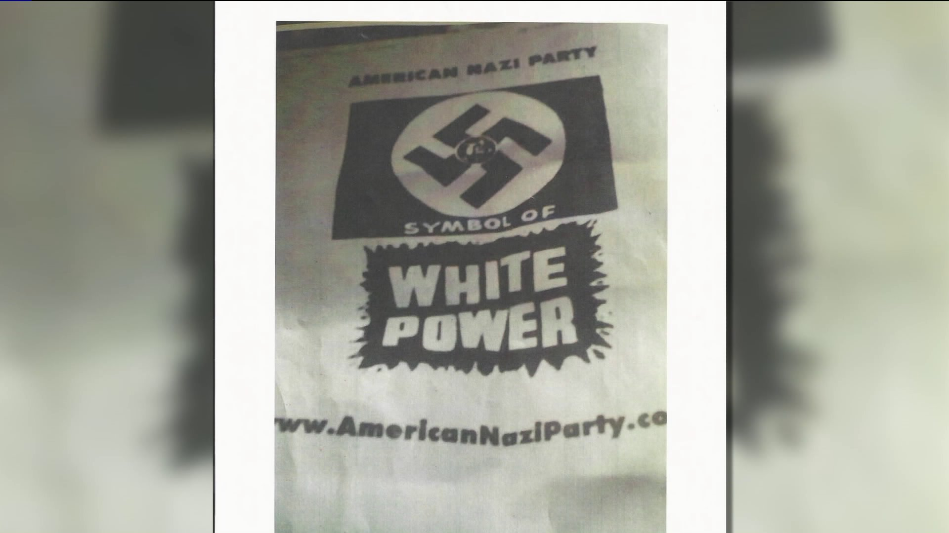 'White Power' Flyers Found in Connecticut Under Investigation