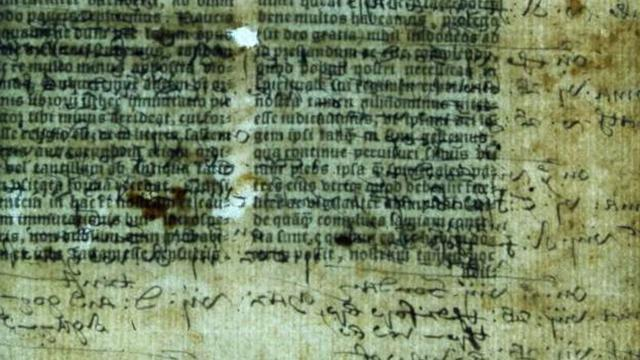 Hidden Text Found In 500-Year-Old English Bible