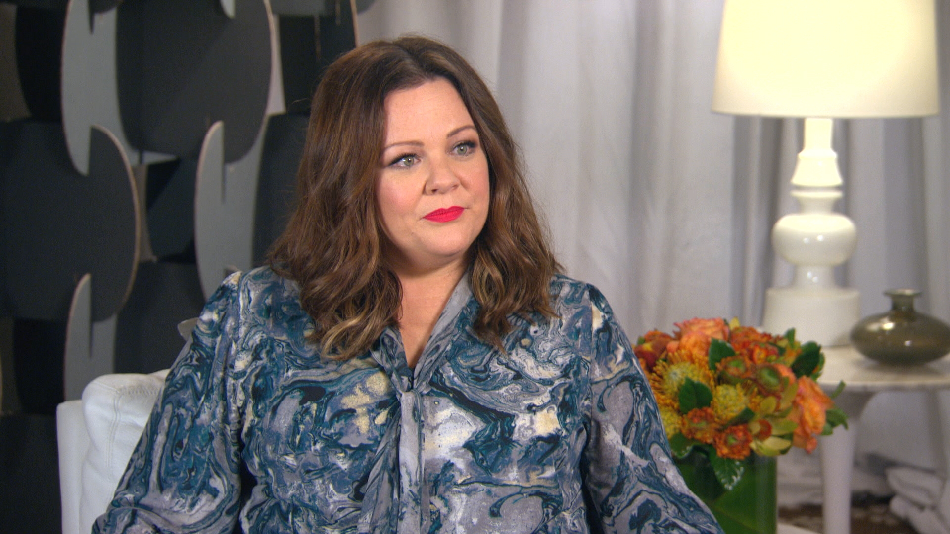 "Melissa McCarthy Talks ""Plus-Size"" Label"