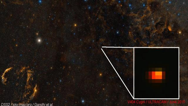 Giant Black Hole's Powerful Burst Observed By Scientists