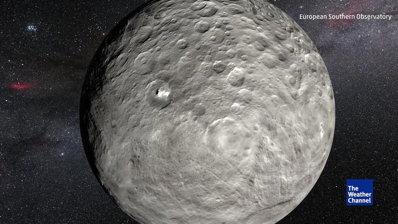 Bright Spots on Dwarf Planet Ceres Changing