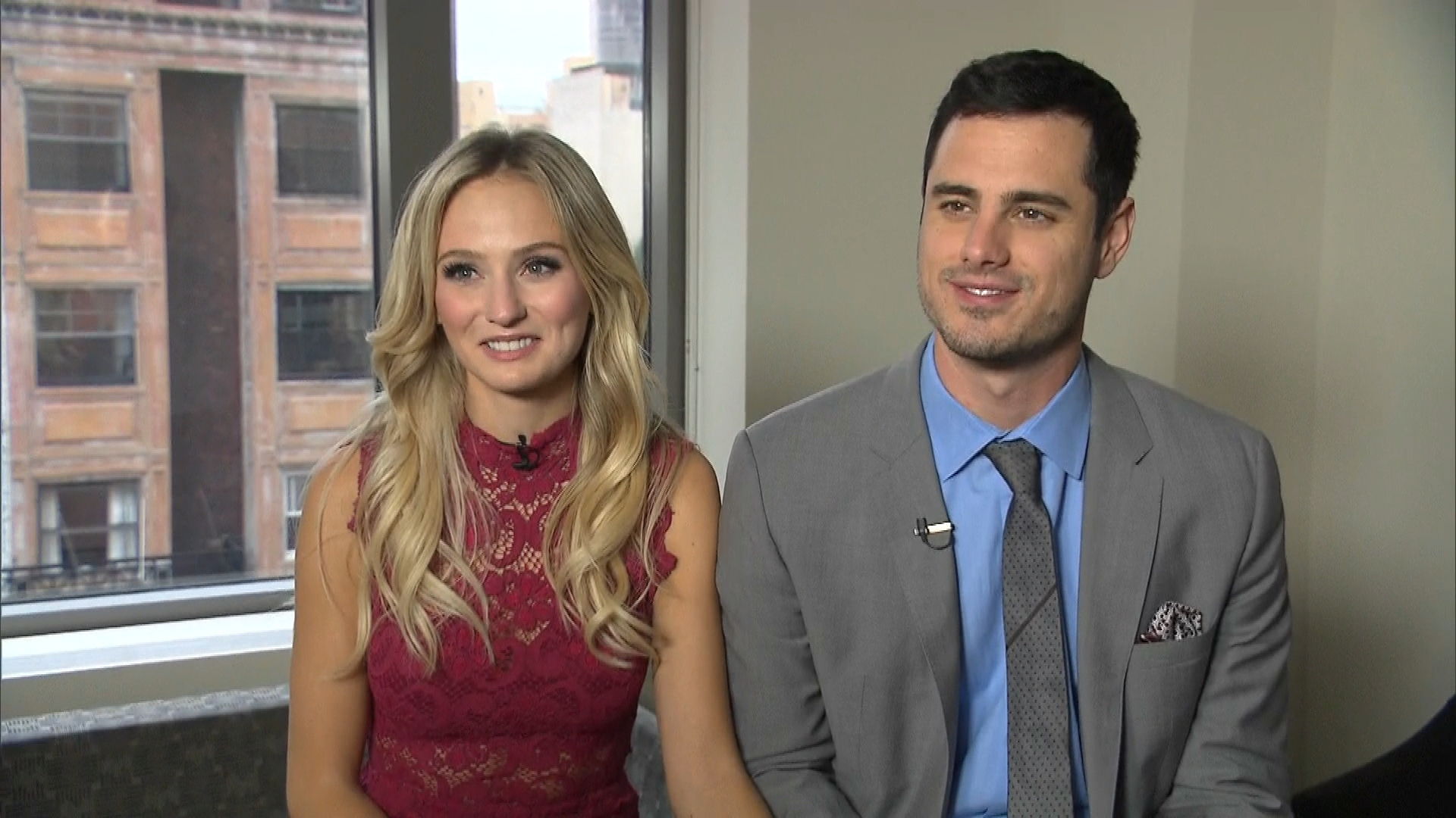 Ben Higgins and Lauren Bushnell's First Date in Public