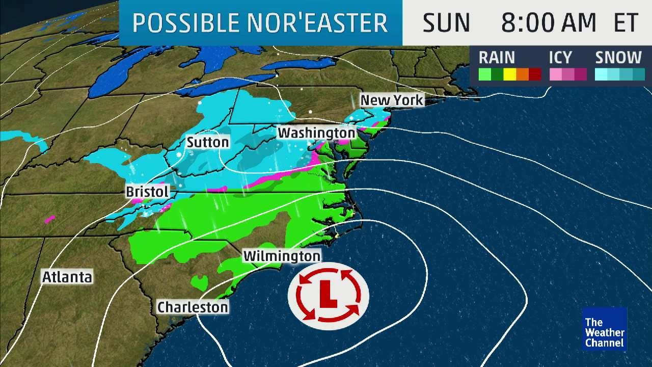Nor'Easter Could Bring Big Snow To New England