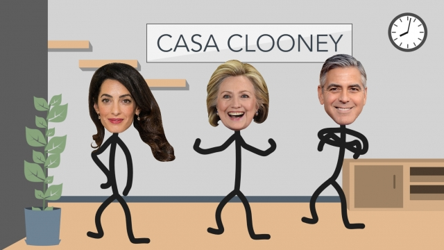 Dreams Come True: Clinton Offers Contest to Hang With the Clooneys