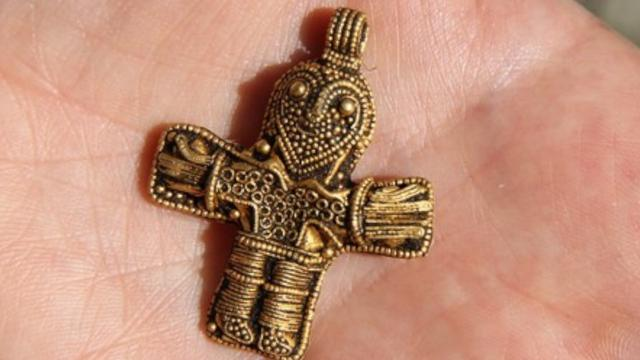 Discovery Of Viking Crucifix May Rewrite History Of Christianity In Denmark