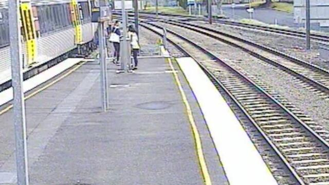 Teenagers Help Save Bird Stuck On Train Tracks In Australia
