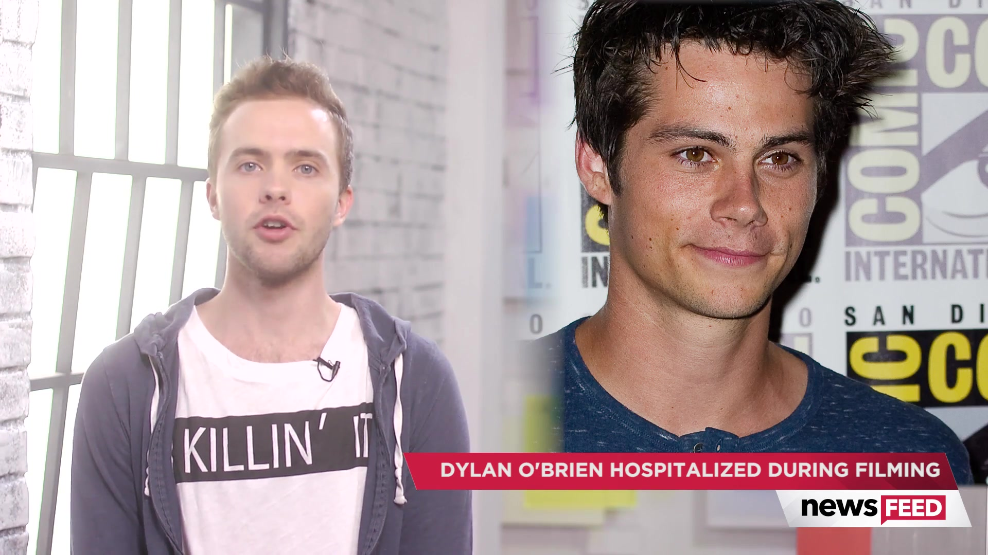 Dylan O'Brien Severely Injured on Set of Maze Runner: The Death Cure