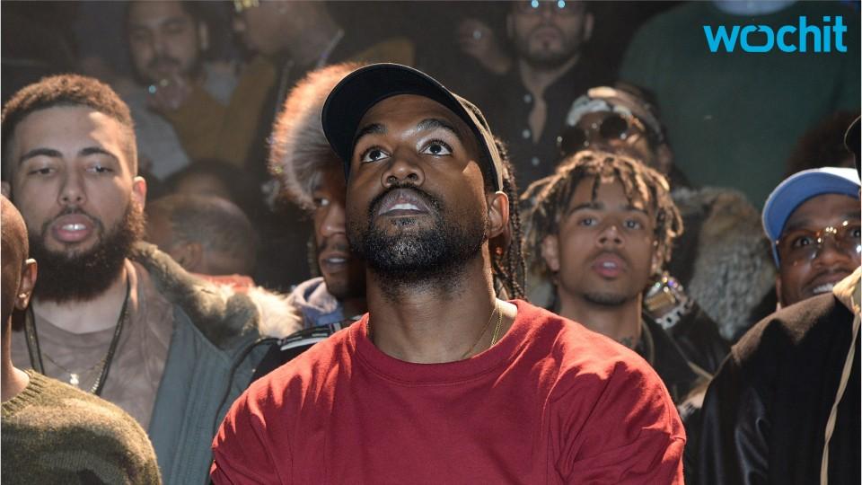 Kanye West's Latest Fan Mural Is Kanye Kissing Kanye