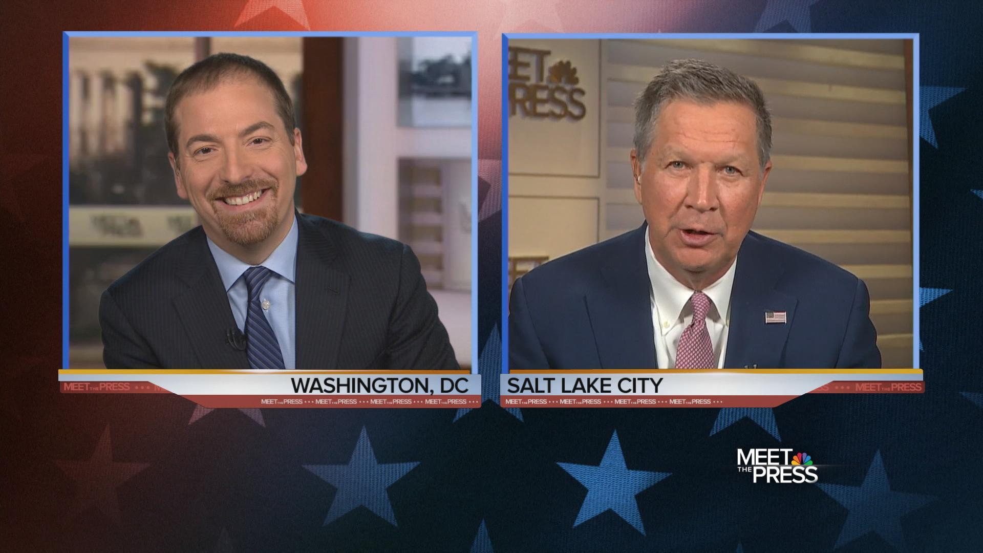 Kasich: 'Under No Circumstances' Will I Be Vice President