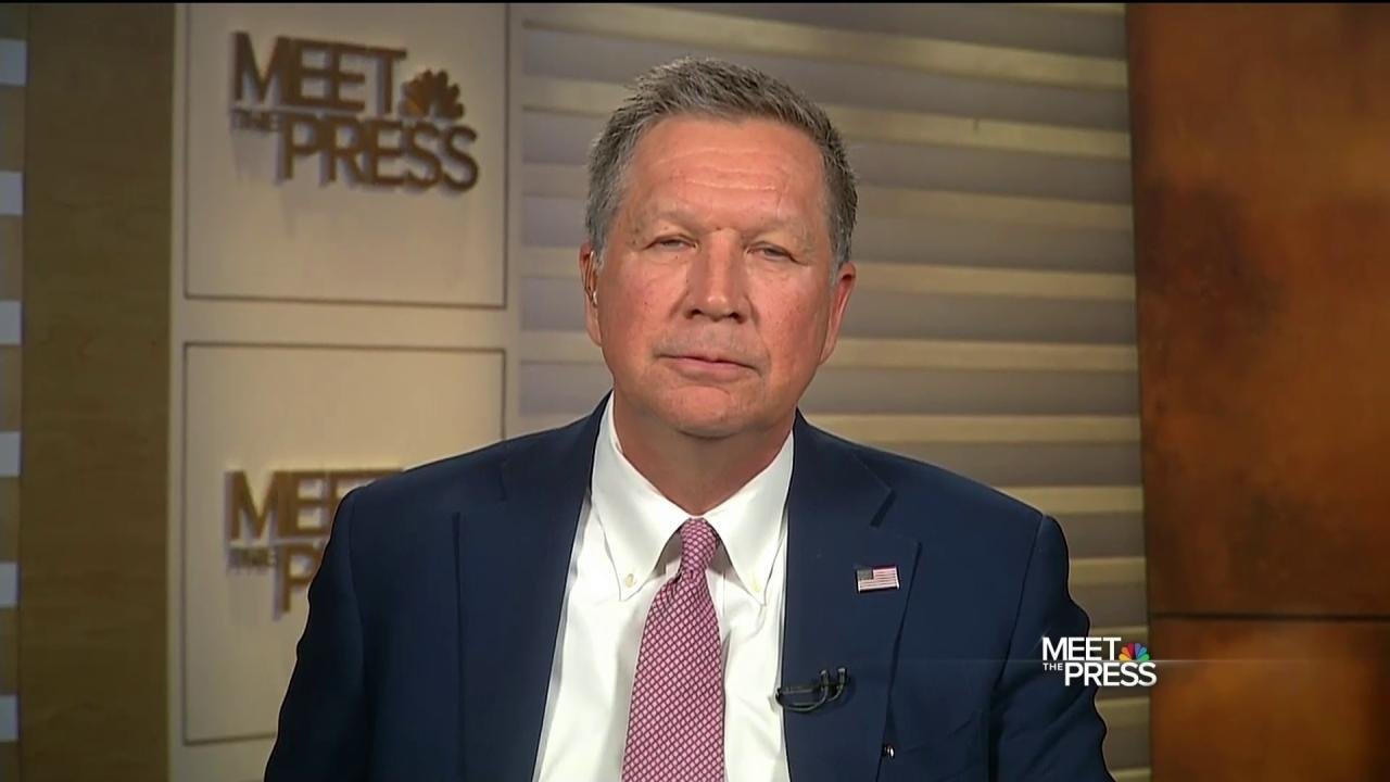 Kasich: If Cruz or Trump Get the Nomination, Clinton Will Be President