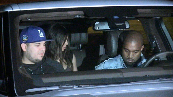 Rob Kardashian -- Family Shows Up for Birthday ... Where's Khloe?