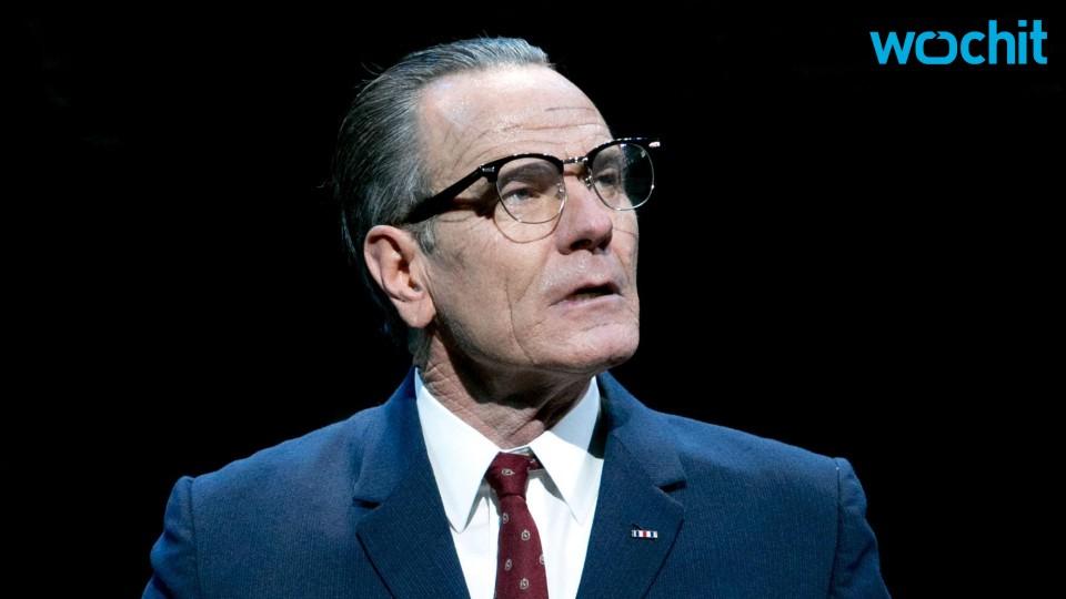 "Bryan Cranston Is President Lyndon B. Johnson In ""All the Way"""