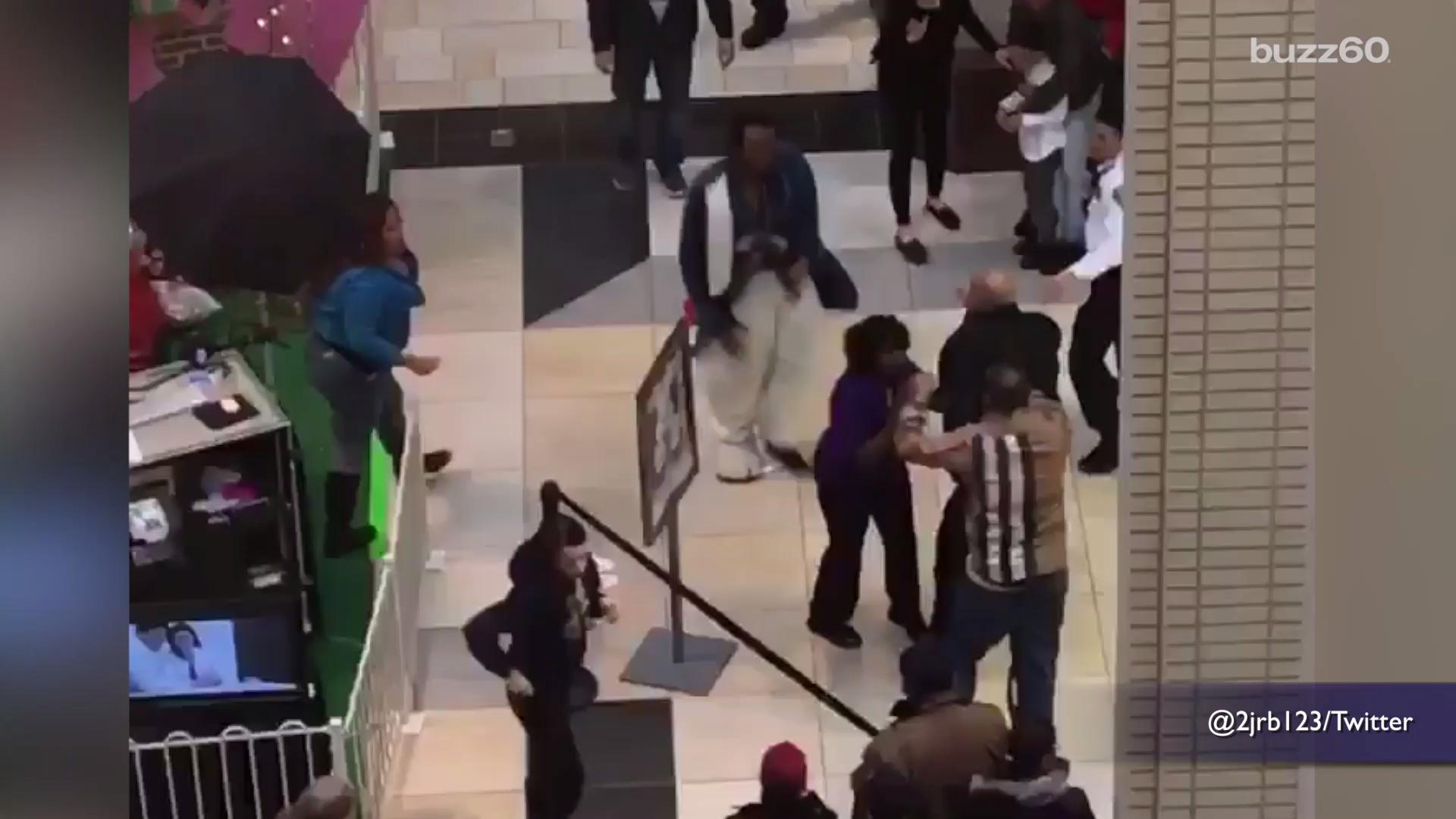 Easter Bunny Mall Fight