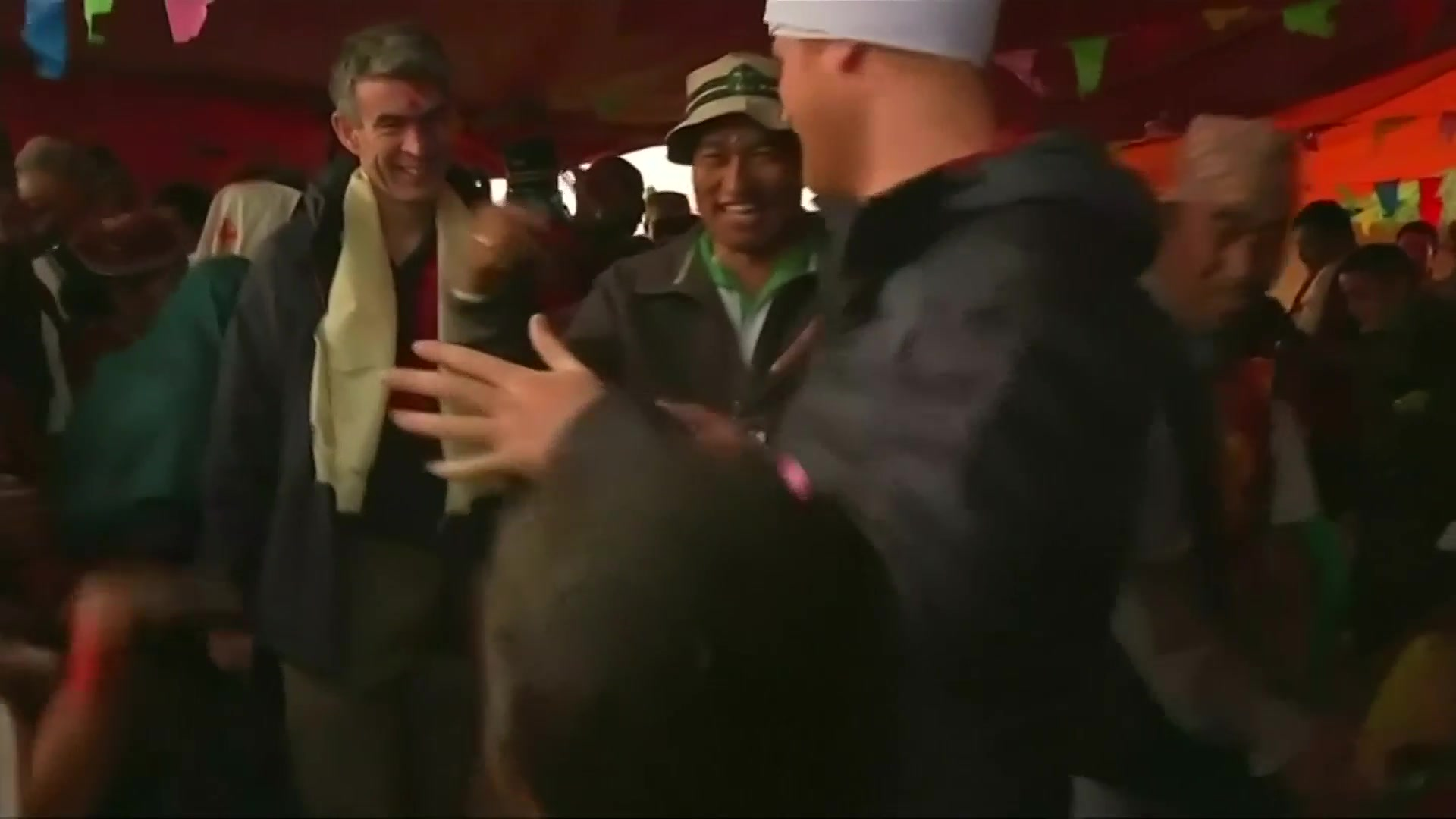 Prince Harry Busts a Move in Nepal