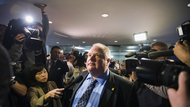 Former Toronto Mayor Rob Ford in Palliative Care as He Battles Cancer