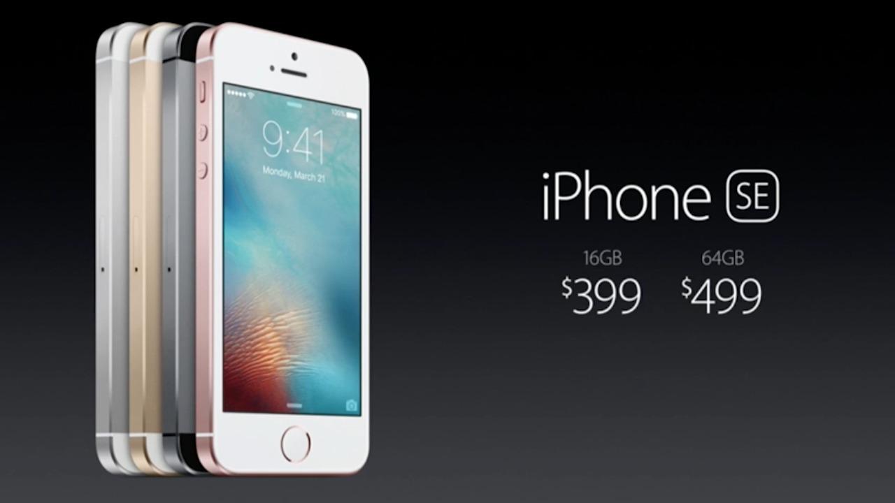 iPhone SE Unveiled