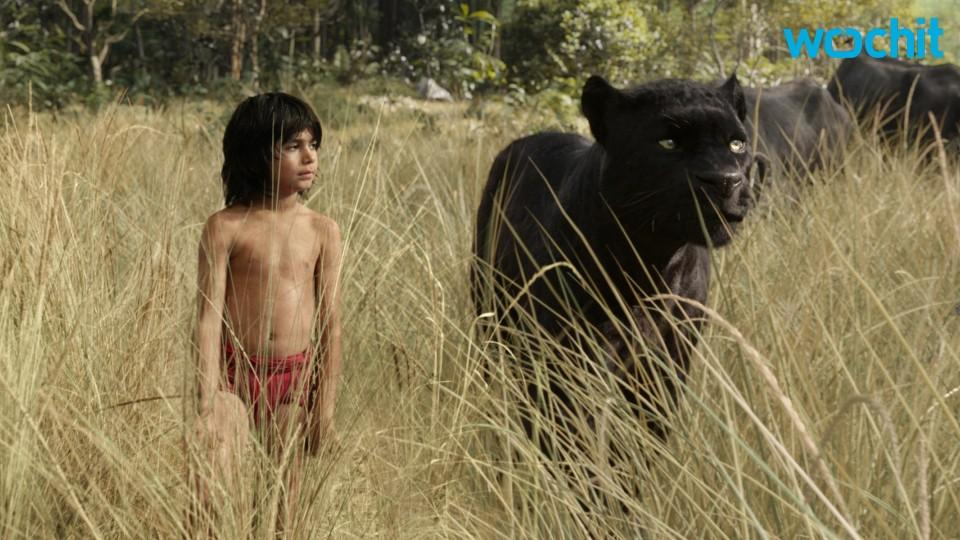 The 'Jungle Book' Cast Poses With Their Characters