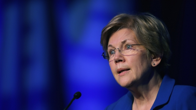 Sen. Elizabeth Warren Uses Trump's Favorite Word Against Him