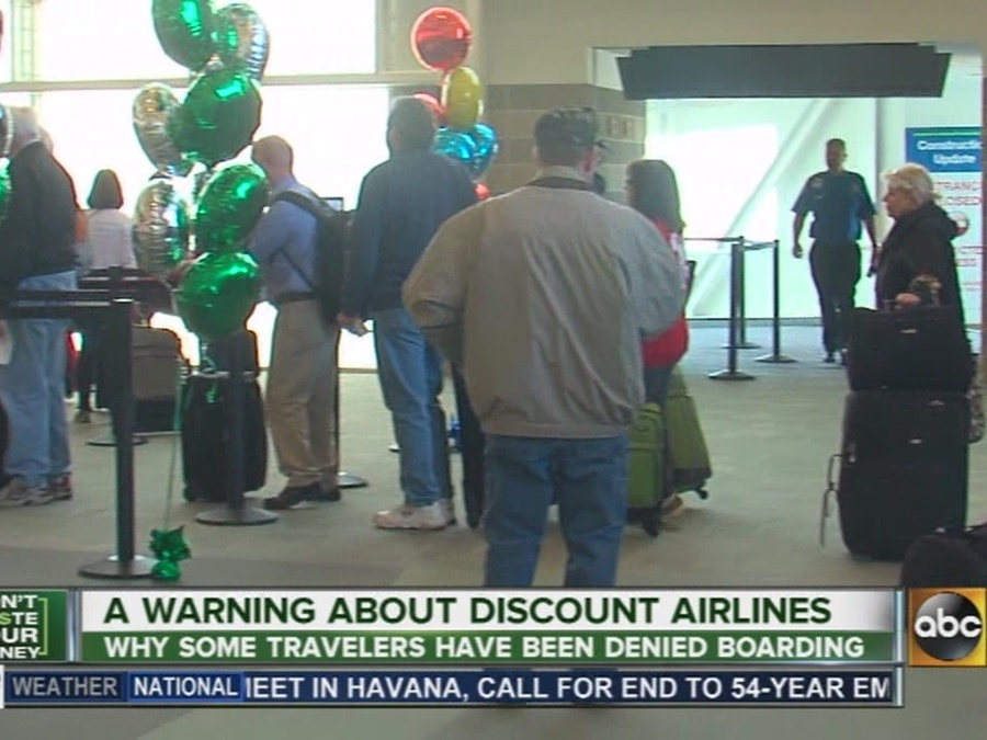 A Warning About Discount Airlines