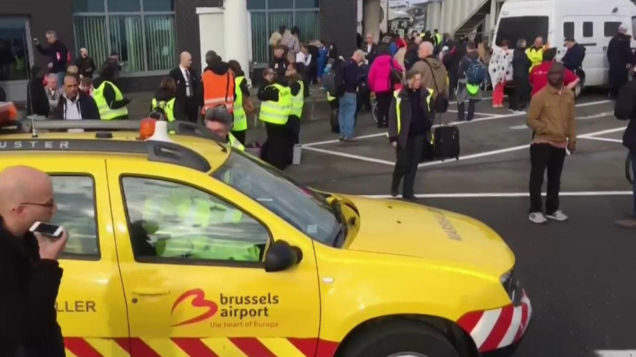 Explosions Rock Brussels Airport