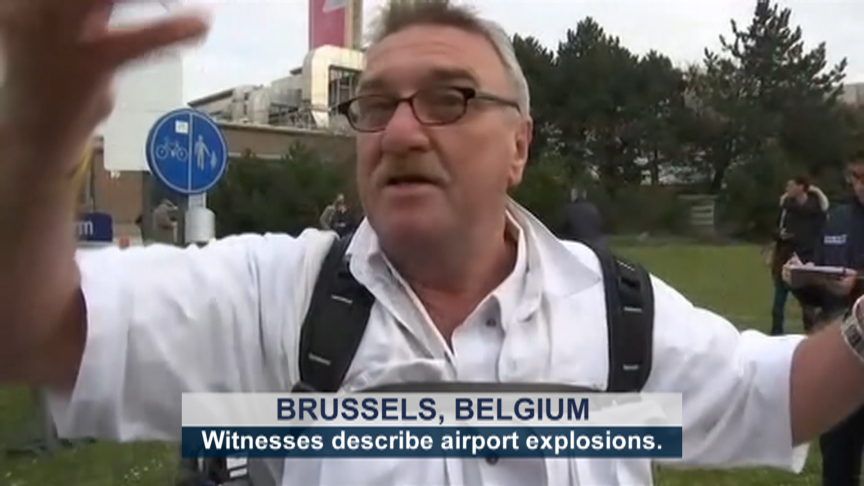 Eyewitness Accounts of Brussels Airport Attack
