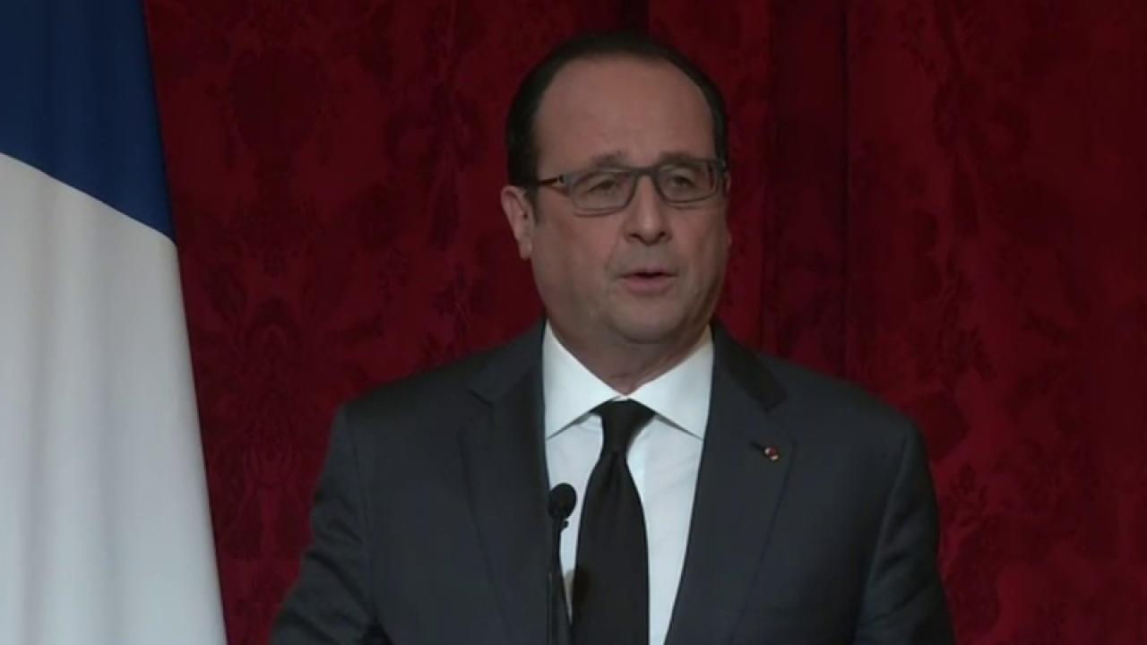'France, Belgium Linked in This Horror': Hollande
