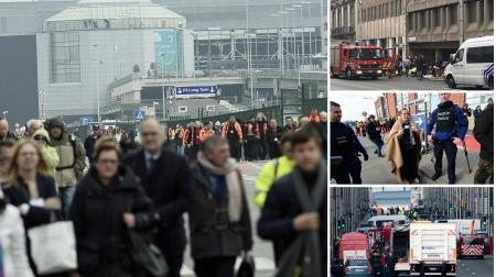 At Least 28 Dead, 130 Injured In Belgium Explosions