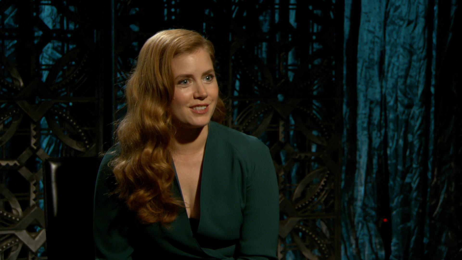 "Amy Adams Is Game for Playing ""First Time"" Game"