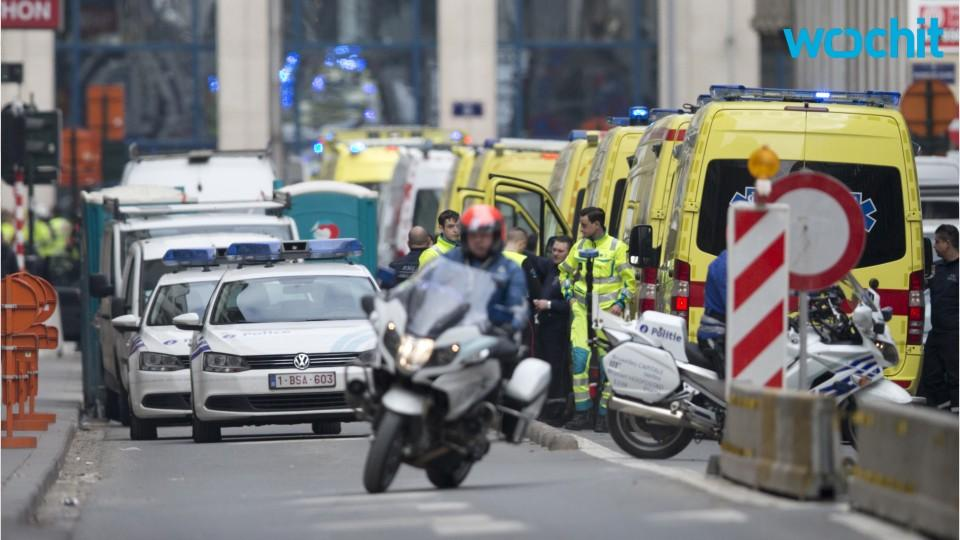 Airport Worker Pulls Injured to Safety in Brussels