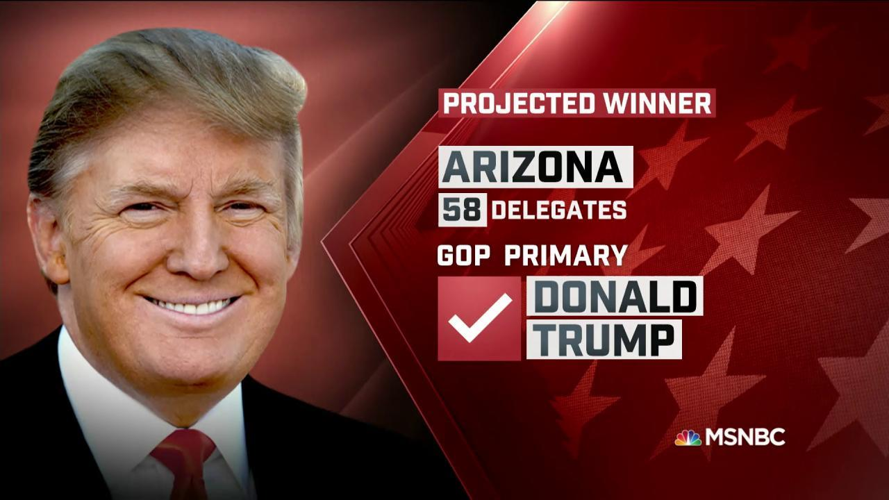NBC News: Trump Wins AZ GOP Primary