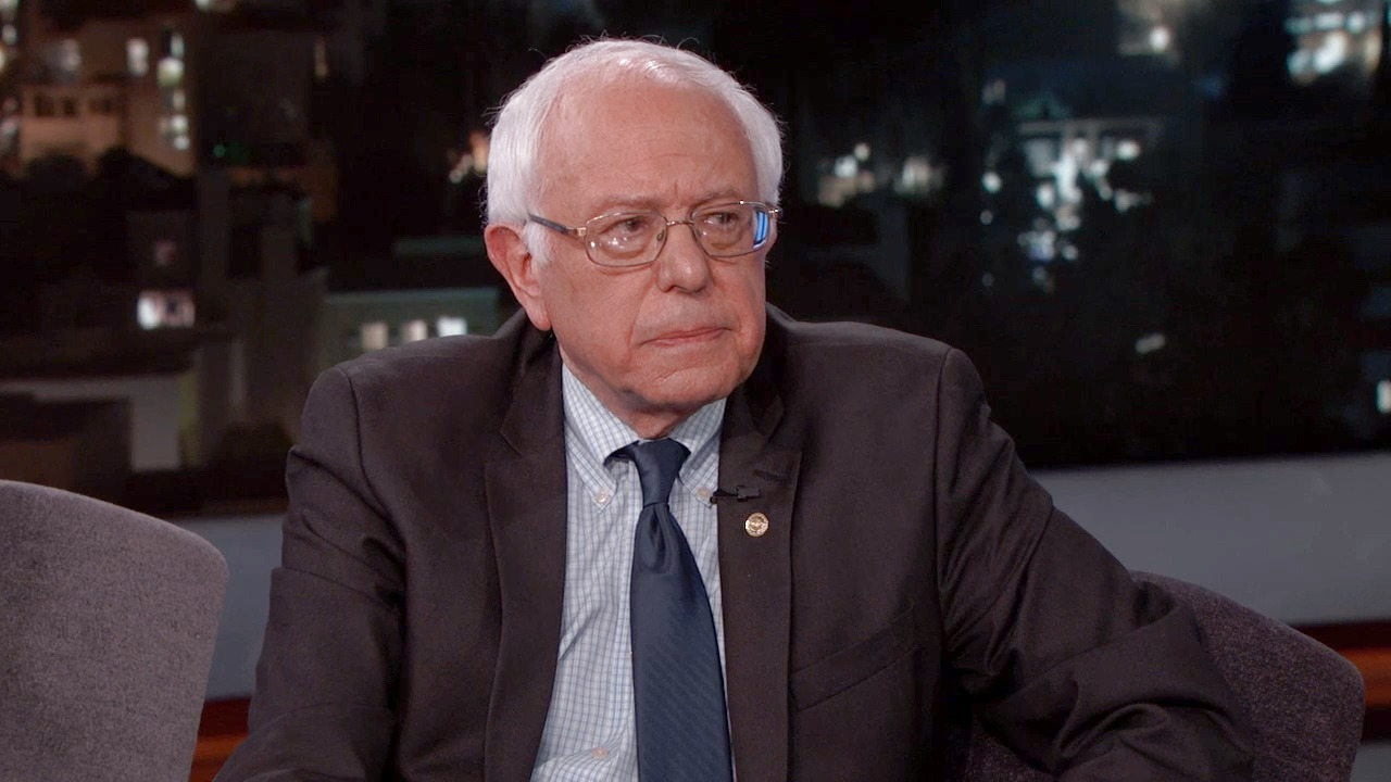 'Jimmy Kimmel Live!': Senator Bernie Sanders Responds to the Brussels Terror Attack